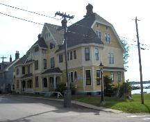 Showing north west elevation; City of Charlottetown, Natalie Munn, 2005