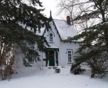 Front view of the residence; Town of Oromocto
