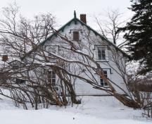 Side view of the house; Town of Oromocto
