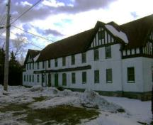This photograph shows the O'Brien House; Town of St. Andrews