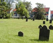 Graveyard, Little Dutch Church, Halifax, Nova Scotia, 2005.; Heritage Division, NS Dept. of Tourism, Culture and Heritage, 2005.