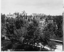 General view of Mount Pleasant Cemetery, ca. 1890.; National Archives of Canada / Archives nationales du Canada, RD-570, ca./vers 1890.