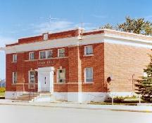 Front façade of the Town Office, 2004.; Government of Saskatchewan, James Winkel, 2004
