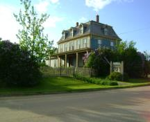 Front & side elevations; Province of PEI, C. Stewart, 2011