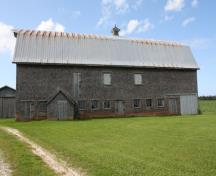 South elevation; Province of PEI, Faye Pound, 2009