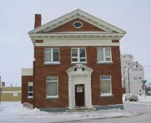 Front view of R.M. Office, 2003.; Government of Saskatchewan, J. Kasperski, 2003.