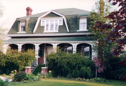 View of Jesse Ashbridge House, 1990s