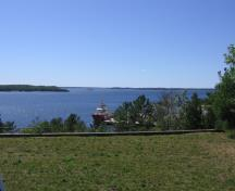 The view from the lookout of Parry Sound and the North Channel.; Marianne King Wilson, 2007