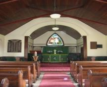 St. Laurence Anglican Church (2010); Sharon Thompson, 2010.