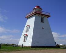 Souris Historic Lighthouse; Province of PEI, C. Stewart, 2011