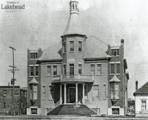Finnish Labour Temple; between 1910 and 1912; Lakehead University Archives, 1910/1912