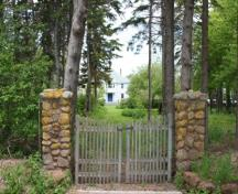 Front stone gate; Province of PEI, F. Pound, 2009