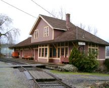 Exterior view of the Port Moody Station Museum, 2004