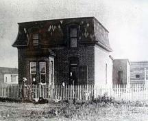 Henry J. Tennant Residence  (circa 1892); City of Lethbridge Archives, circa 1892