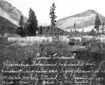 Old Hillcrest Cemetery Provincial Historic Resource, Crowsnest Pass, Hillcrest (1914); Provincial Archives of Alberta, A.2410