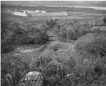 View of Fort Carlton, 1871; Charles Horetzky, Library and Archives Canada/Bibliothèque et archives du Canada, 1871