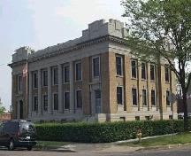 Massive styling and detailed design highlight this Beaux Arts style postal facility, built in 1914.; City of Windsor, Nancy Morand