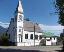 500 Fourth Street - St. Andrew's United Church; Village of Kaslo, 2012