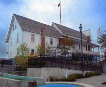 View of the side façade of the Abbotsford Sikh Temple National Historic Site of Canada, 2002.; Khalsa Diwan Society, Abbotsford