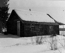 Exterior photo in winter setting; Parcs Canada - Parks Canada (Date inconnue - Date unknown).
