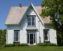 Front elevation; Province of PEI, F. Pound, 2009
