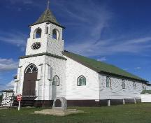 Front Elevation of St. Luke's Lutheran Church, 2004.; Government of Saskatchewan, Brett Quiring, 2004.