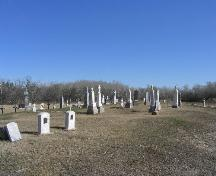 Cemetery, South elevation, 2005; Government of Saskatchewan, Brett Quiring, 2005.