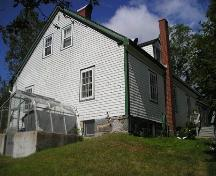 Side Perspective, Rose Bank Cottage, Musquodoboit Harbour, 2005; Heritage Division, Nova Scotia Department of Tourism, Culture and Heritage, 2005