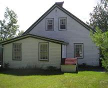 Side Elevation, Rose Bank Cottage, Musquodoboit Harbour, 2005; Heritage Division, Nova Scotia Department of Tourism, Culture and Heritage, 2005