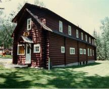 Bunkhouse Recognized Federal Heritage Building; Merna Foster, Jasper National Park (1987).
