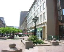 General view of south side of Granville Mall Streetscape, Halifax, 2005.; Heritage Division, NS Dept. of Tourism, Culture and Heritage, 2005