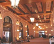 Interior view of the Fort Garry Hotel, Winnipeg, 2006; Historic Resources Branch, Manitoba Culture, Heritage and Tourism, 2006