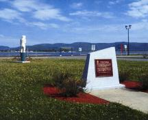 Location of plaque, Campbellton, NB; Parks Canada / Parcs Canada, 2007