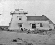 North Rustico Lighthouse, 1912; Carol Livingstone Private Collection