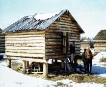 One of Lang's store houses.; Curtis Merrill/NWT Archives/N-1992-192:0040