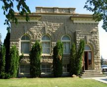 Cardston Courthouse Provincial Historic Resource (April 2004); Alberta Culture and Community Spirit, Historic Resources Management Branch, 2004