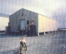 One of the two warehouses; (Canada, North Warning System Office, 1998.)
