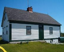 Rear elevation, John Henry Ernst House, Blockhouse, 2004; Heritage Division, Nova Scotia Department of Tourism, Culture and Heritage, 2004