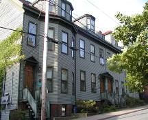 Street elevation, Charles H. Willis House (on right), Halifax, Nova Scotia, 2005.; Heritage Division, NS Dept. of Tourism and Heritage, 2005.