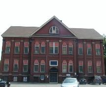 Rear elevation, Chebucto School, Halifax, Nova Scotia, 2005.; Heritage Division, NS Dept. of Tourism, Culture and Heritage, 2005.