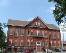 Front elevation, Chebucto School, Halifax, Nova Scotia, 2005.; Heritage Division, NS Dept. of Tourism, Culture and Heritage, 2005.
