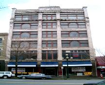 Exterior view of the Trapp Block; City of New Westminster, 2004