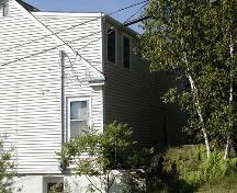Side elevation, Mystery House, Dartmouth, Nova Scotia, 2005.; HRM Planning and Development Services, Heritage Property Program, 2005.