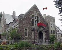 Exterior view of Administration Building; Parks Canada Agency / Agence Parcs Canada