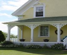 Front facade detail; Province of PEI, F. Pound, 2009