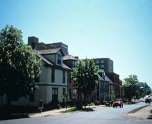 General view of the Great George Street Historic District; Parks Canada / Parcs Canada, R. Lavoie 1999
