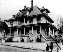 Exterior view of the Bilodeau House, nd; Collection Steve Norman, New Westminster