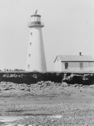 Point Prim Lighthouse with light keepers cottage