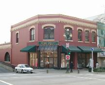 Exterior view of the Dupont Block, 2004; City of New Westminster, 2004