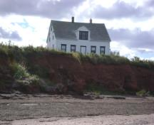 Front elevation from shore; Province of PEI, C. Stewart, 2010